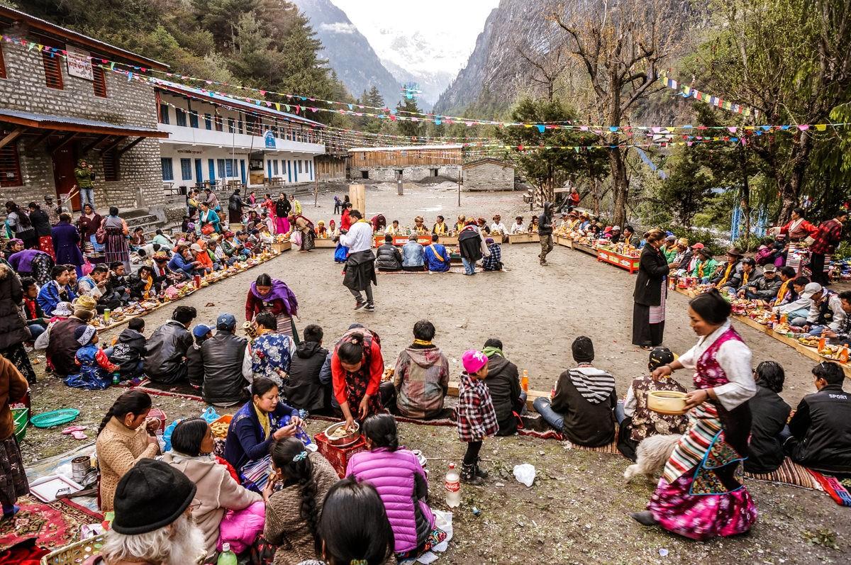 Annapurna Circuit Manang Archery Festival