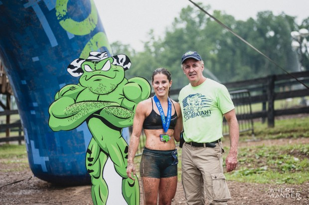 Don Mann and Corinna Coffin BattleFrog 15K