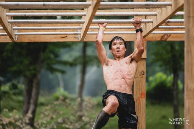 Junyong Pak Monkey Bars BattleFrog