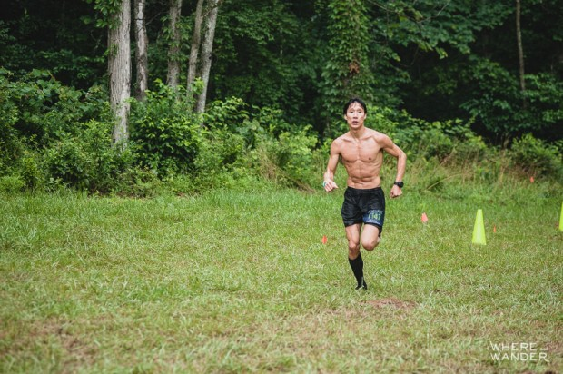 Junyong Pak Running BattleFrog 15K