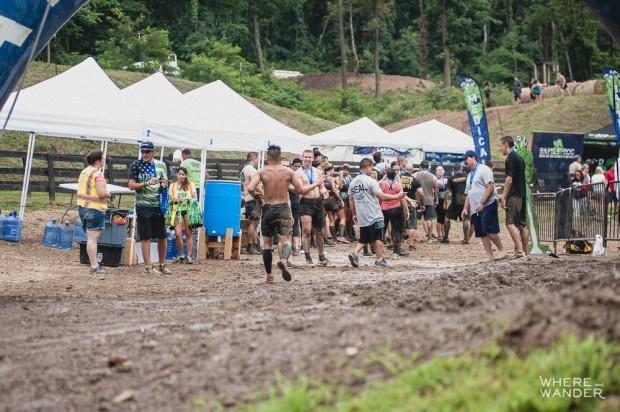 BattleFrog 15K Obstacle Course Race Finish Line