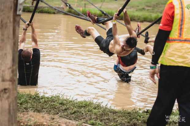 BattleFrog 15K Obstacle Course Race Must Do Rope Traverse