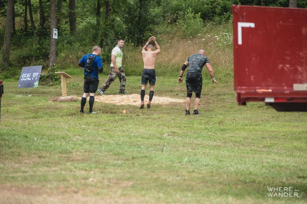 BattleFrog 15K Obstacle Course Race Must Do 8 Count Body Builder