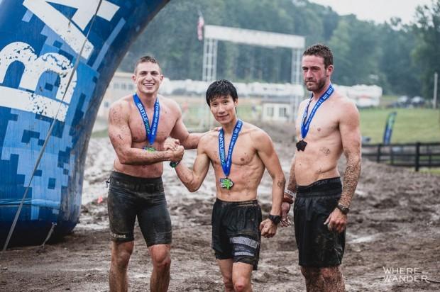BattleFrog DC Top 3 Men's Finisher