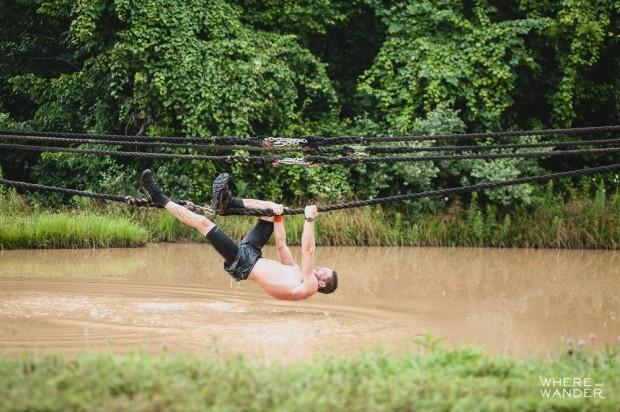 Zack Kessell OCR Rope Traverse BattleFrog