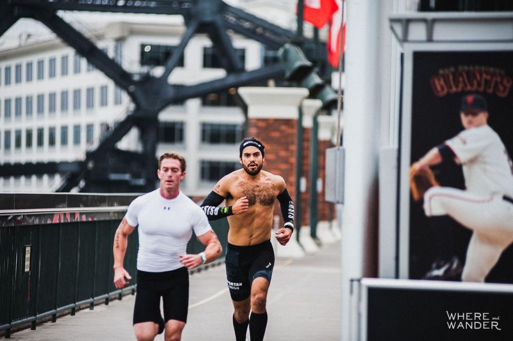 Ian Deyerle and Miguel Medina AT&T Park Spartan Stadium Sprint