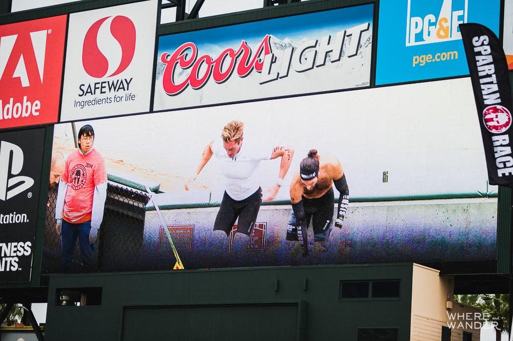 Big Screen AT&T Park Spartan Stadium Sprint
