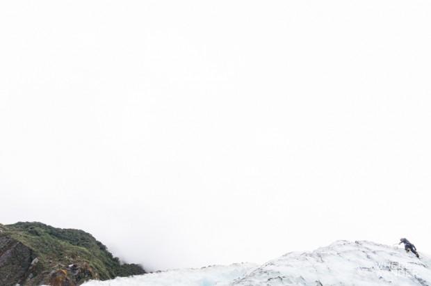 Marius Climbing Fox Glacier