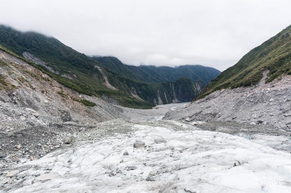 Fox Glacier Summer Climbing Terrain