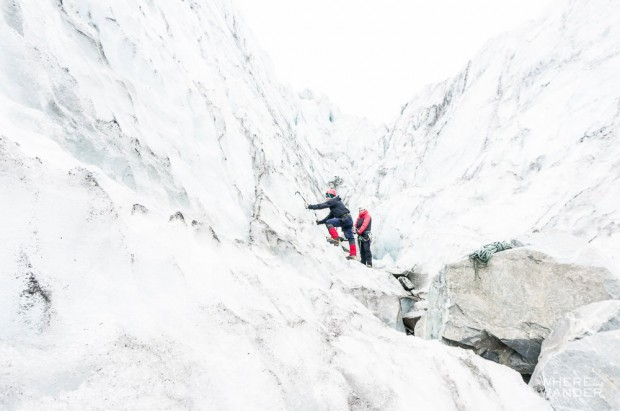 Learning How To Ice Climb