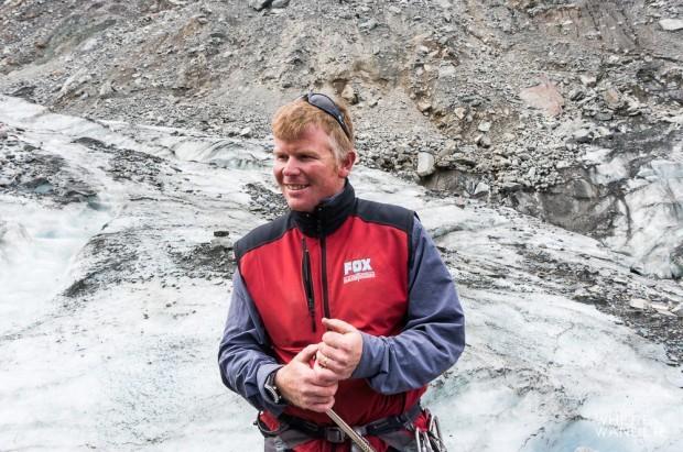 Fox Glacier Guiding Manager Marius