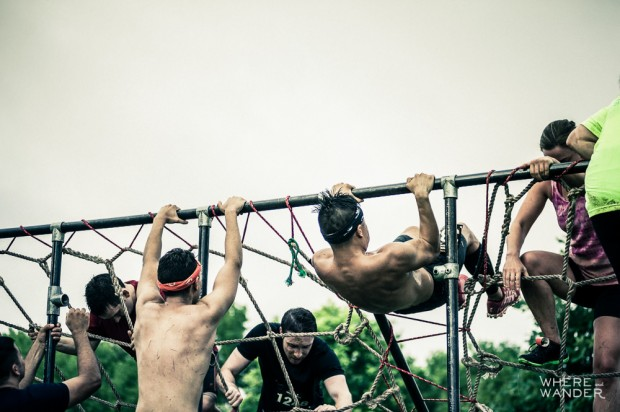 Jim's Jungle Gym At Merrell Down and Dirty Race