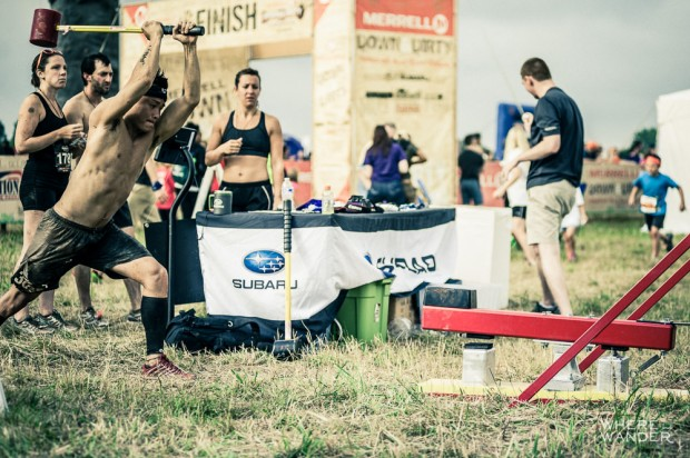 Hammer Slam At Merrell Down and Dirty Obstacle Race