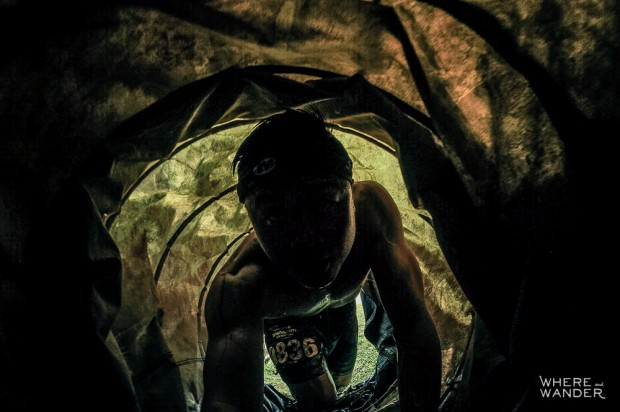 Tunnel Crawl At Merrell Down and Dirty Obstacle Race