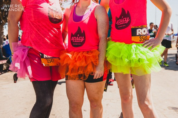 ROC Race 5K Obstacle: Tutus