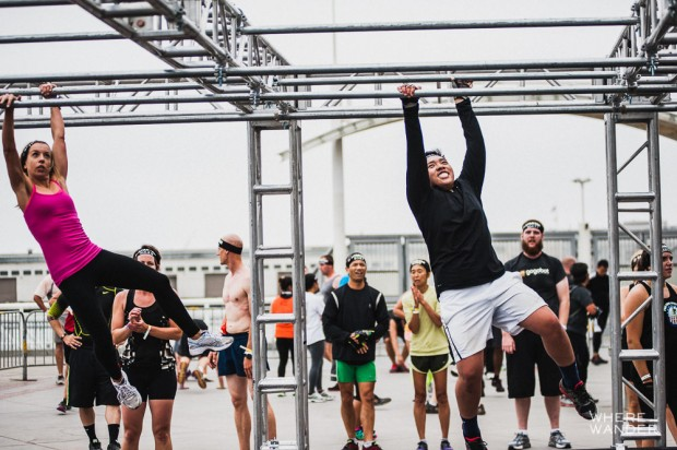 Monkey Bars at Spartan Race