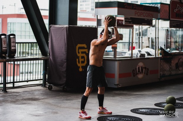Ball Slam at AT&T Park Spartan Stadium Sprint