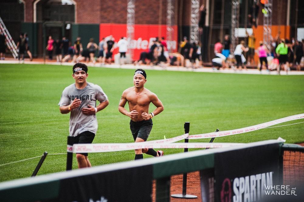 Running at AT&T Park Spartan Stadium Sprint