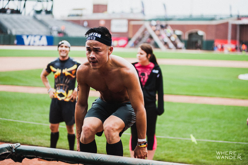 Box Jumps at AT&T Park Spartan Stadium Sprint