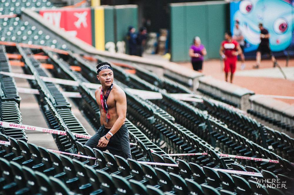 Kien Lam at AT&T Park Spartan Stadium Sprint