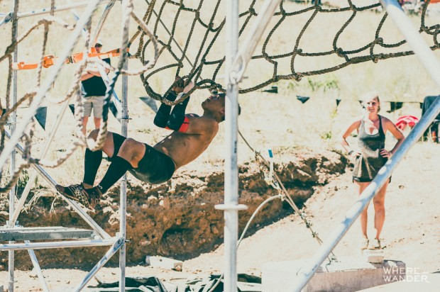 Tough Mudder Leap Of Faith Jump