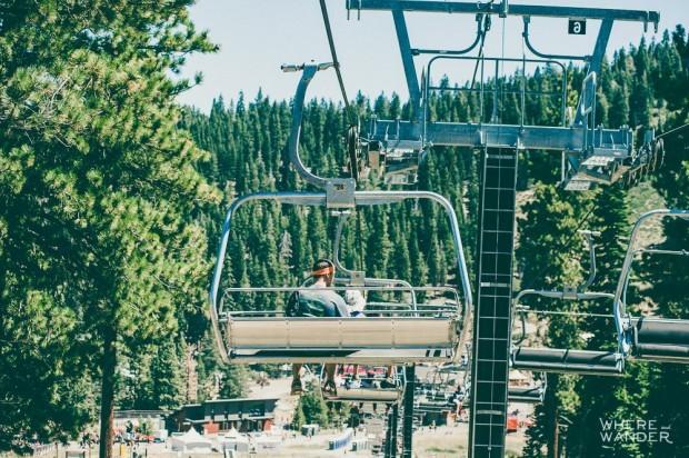 Tough Mudder Tahoe Gondola