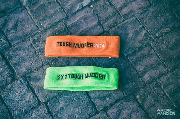 Tough Mudder Finishers Orange Headbands
