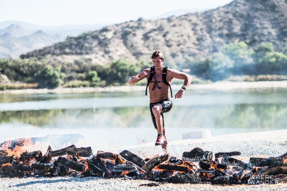 Spartan Race Fire Jump