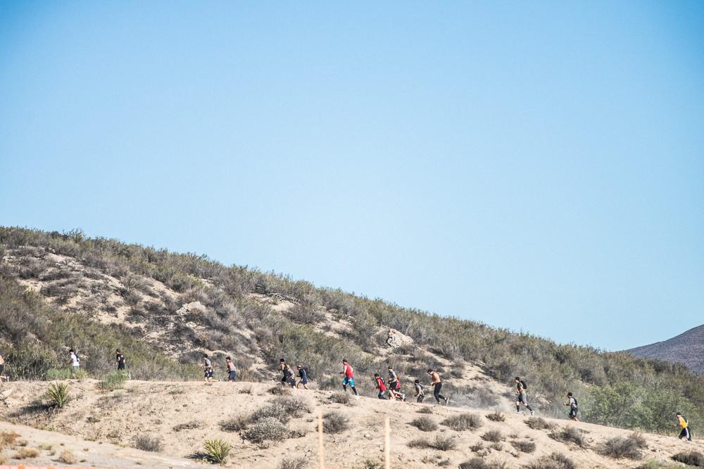 Spartan Race SoCal Beast Hot Hills