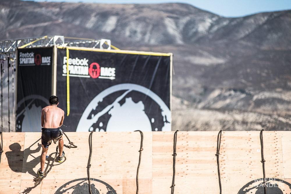 Spartan Race Slippery Wall