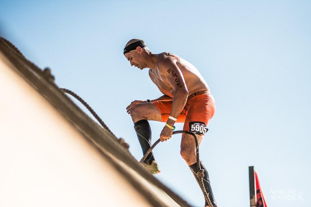 Spartan Race Slip Wall