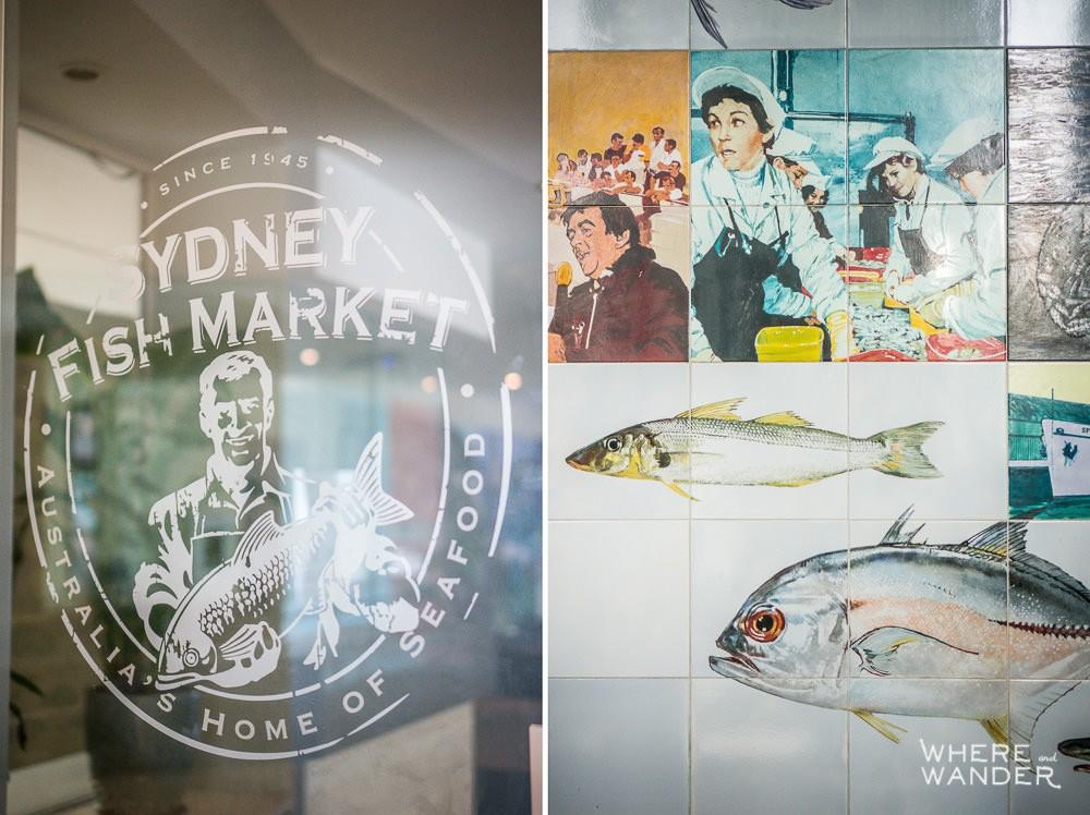 Sydney Fish Market Logo