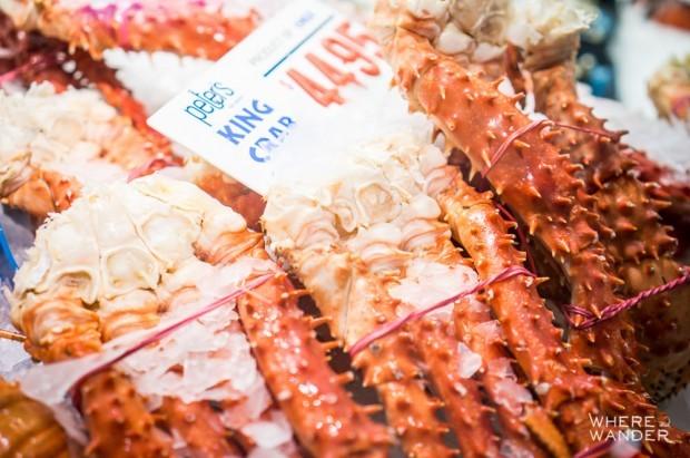 Sydney Fish Market Crabs