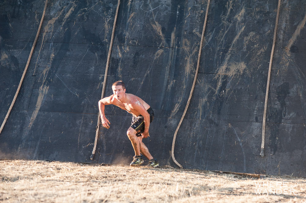 Warrior Dash World Championships Obstacles 2014