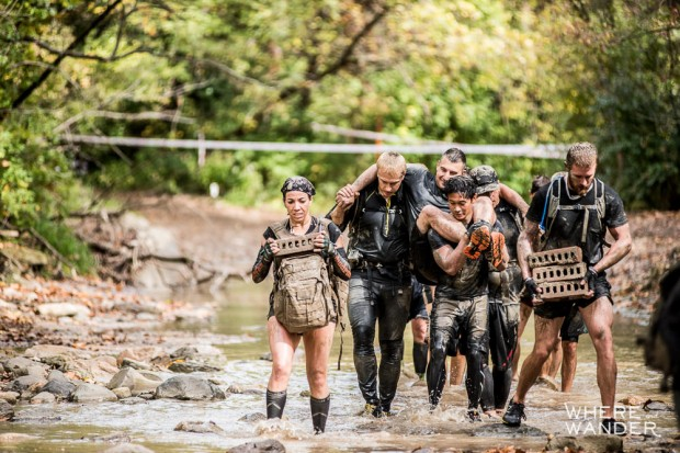 Spartan 12 Hour Hurricane Heat HH12HR Chicago Wounded Warrior Carry