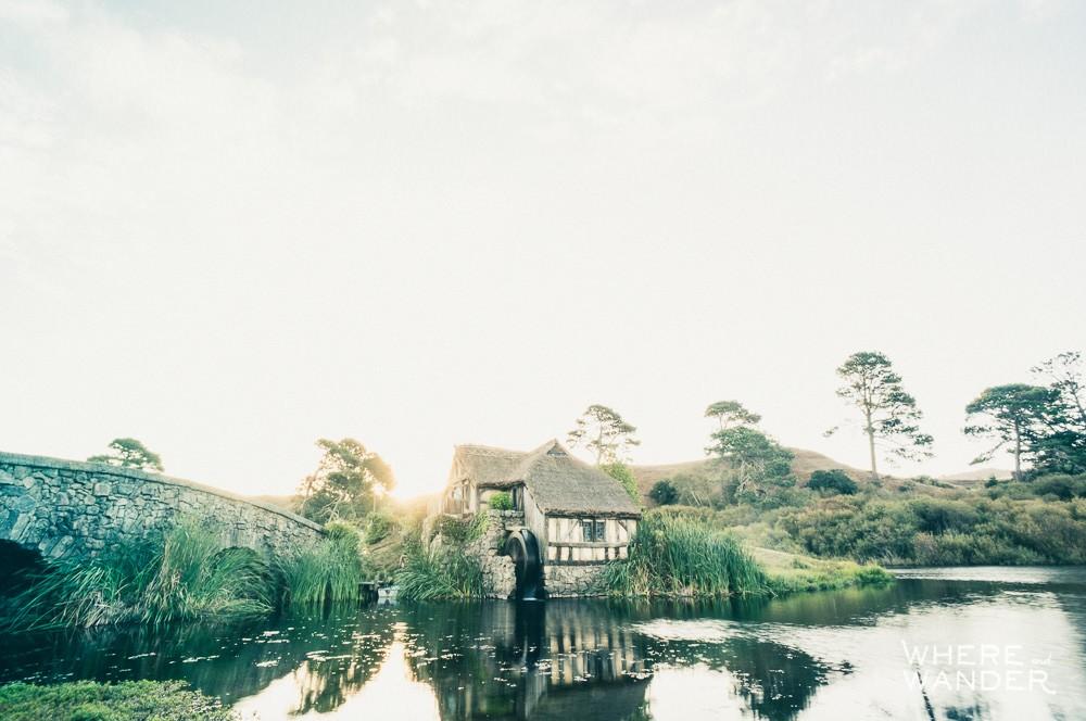 Hobbiton Movie Set Tour: Mill and Bridge