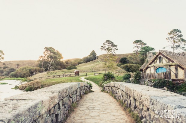 Hobbiton Movie Set: Hobbit Stone Bridge