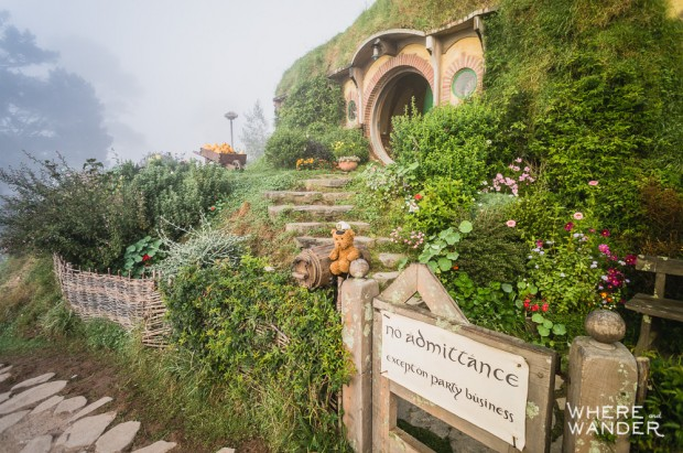 The Hobbit Movie Set: No Admittance Except On Party Business