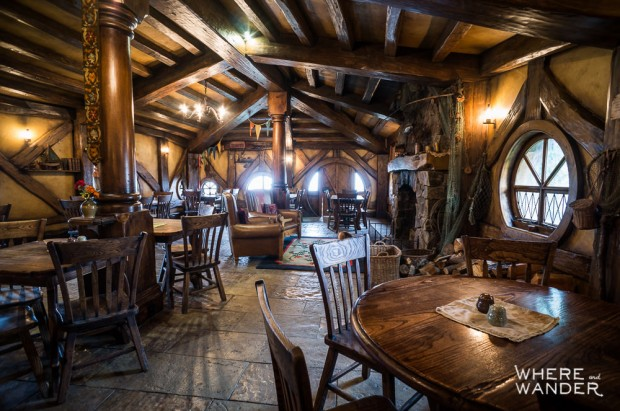 Green Dragon Inn: Open For Lunch on Hobbiton Set