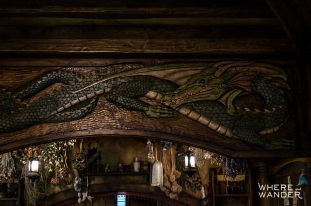 Green Dragon Inn Carving Of Smaug