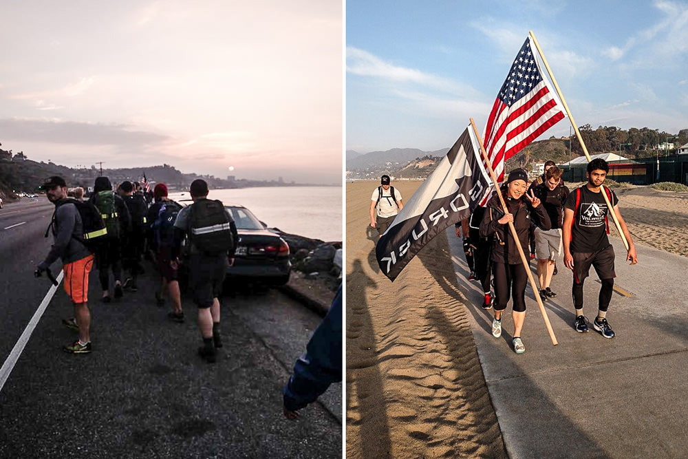 GORUCK Challenge Morning March