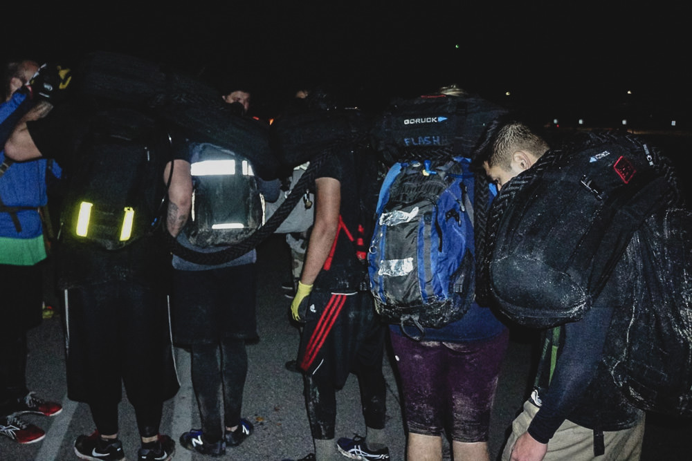 GORUCK Challenge Team Weight