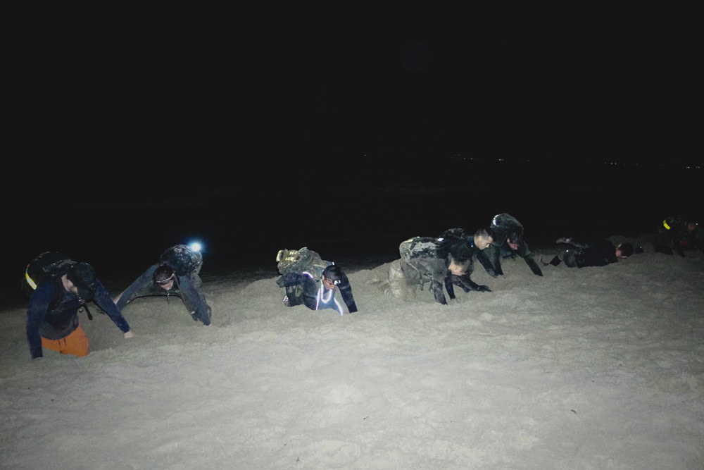 GORUCK Challenge Trench Digging Mortars