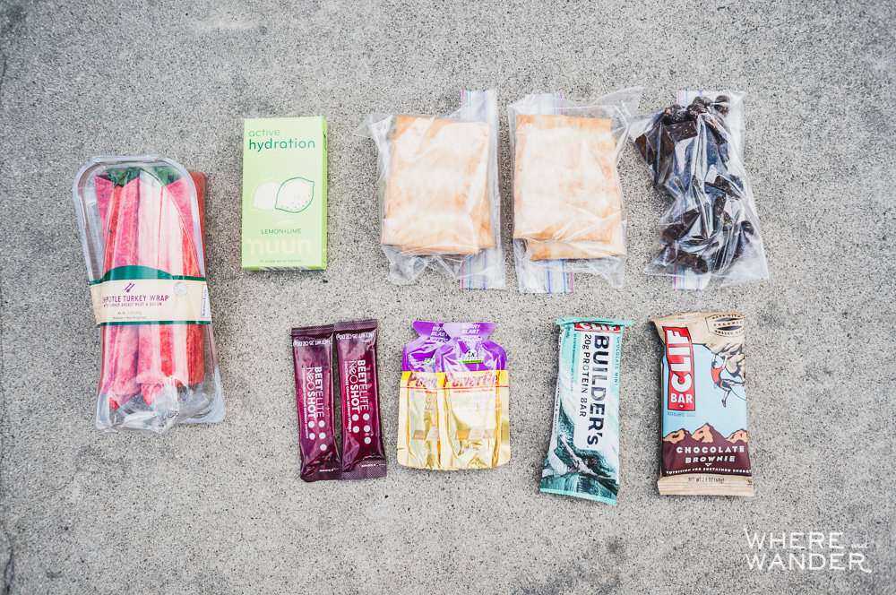 GORUCK Challenge Food Packing List