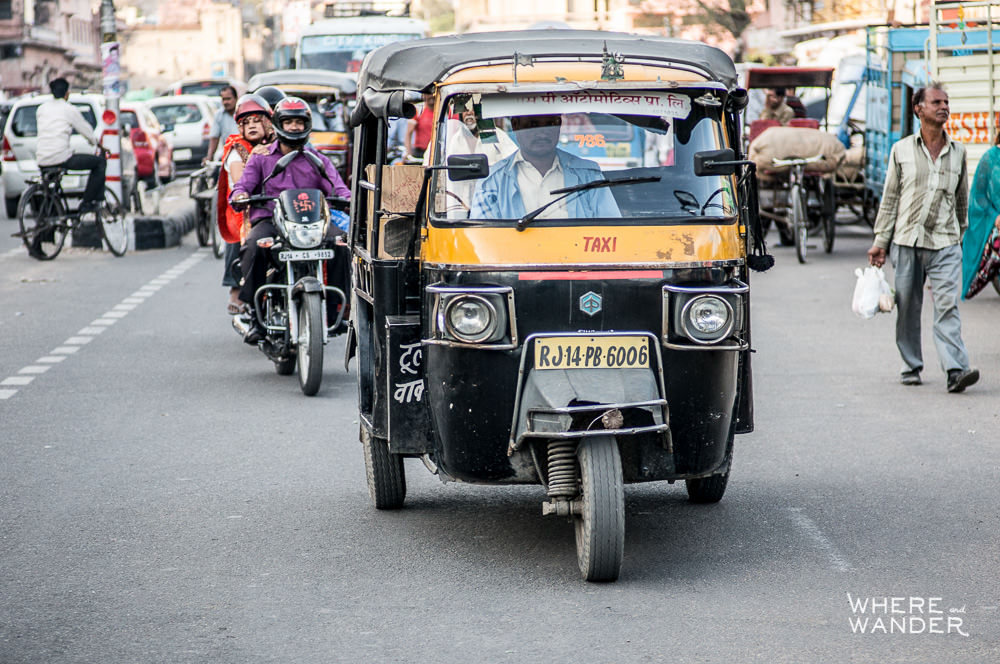 Auto-Rickshaw-India-Crazy-Traffic
