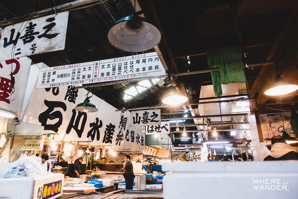 Tsukiji-Fish-Market-Morning-Wholesale