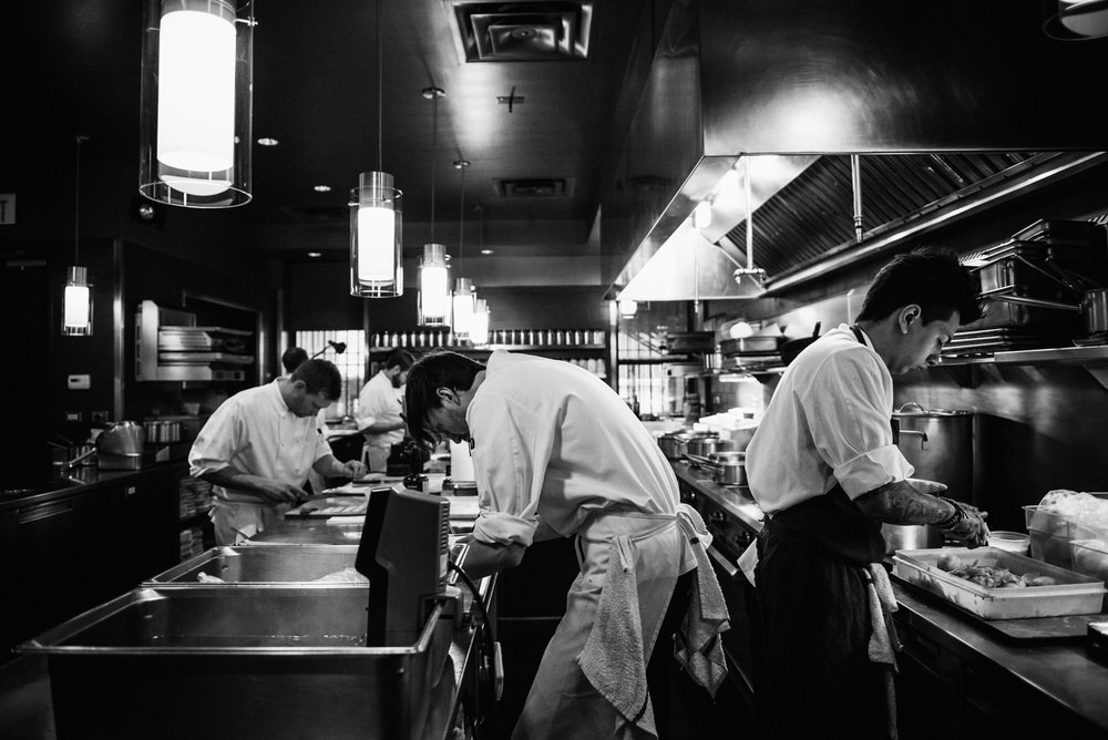 Behind The Scenes Next Restaurant Dinner Service In Chicago