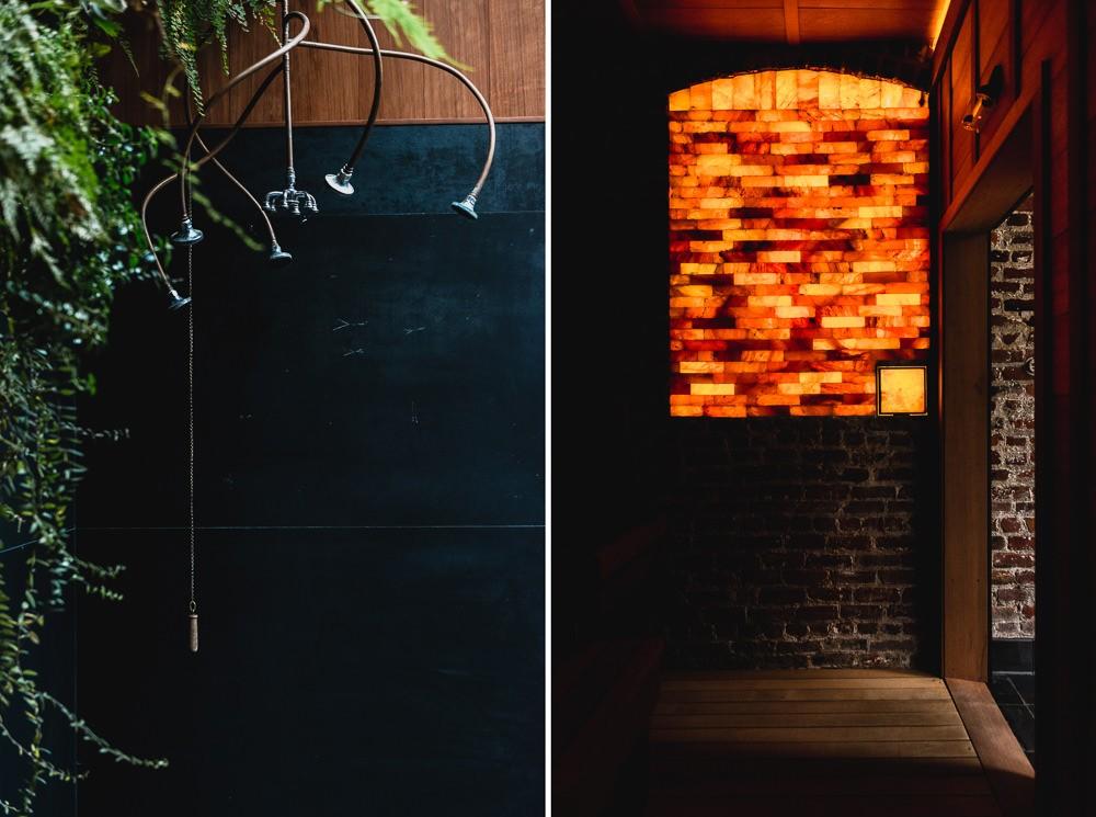 Japanese Onsen Sauna
