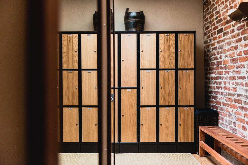 Onsen SF Locker Changing Room