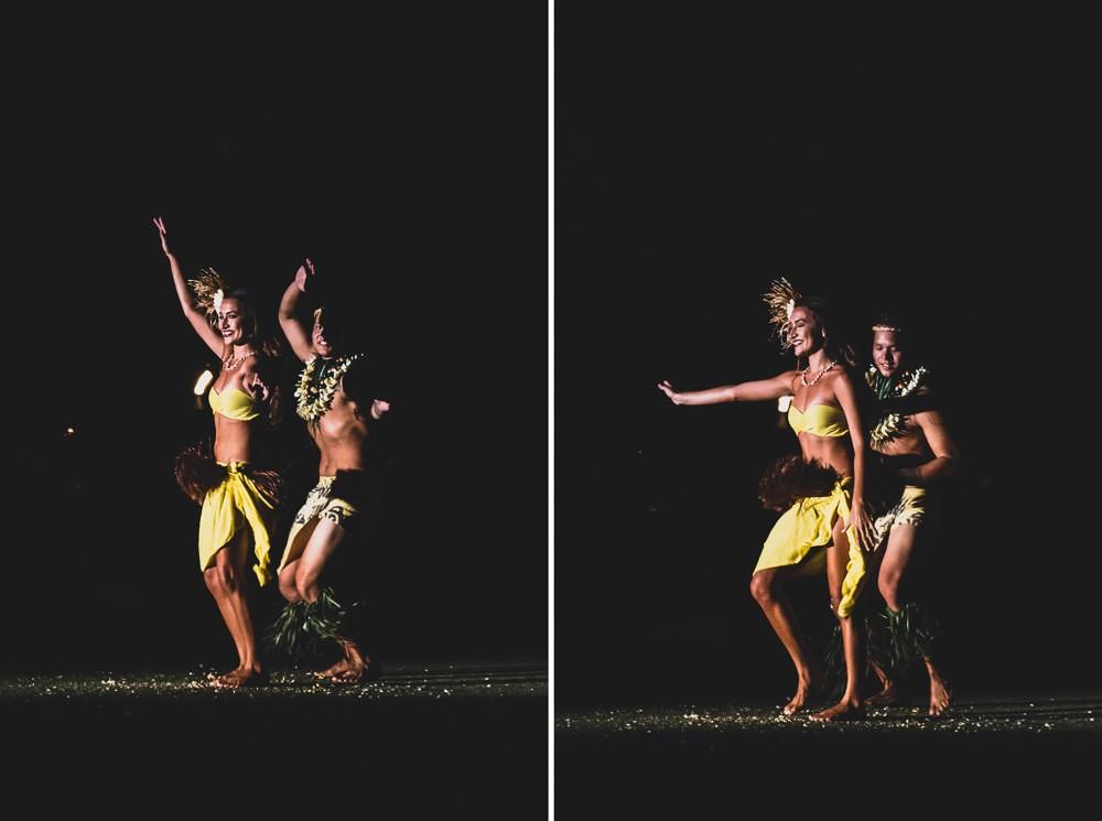 Old Lahiana Luau Couples Dancing